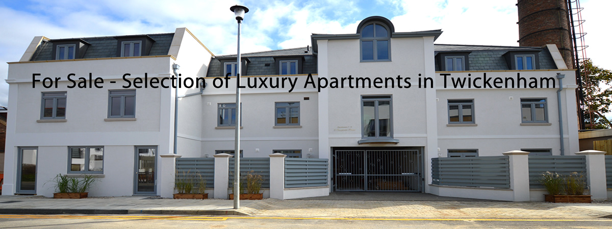 Selection of Luxury Apartments in Twickenham